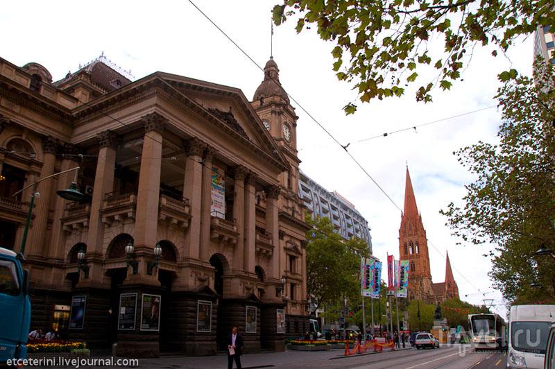 Ратуша в Мельбурне / Фото из Австралии