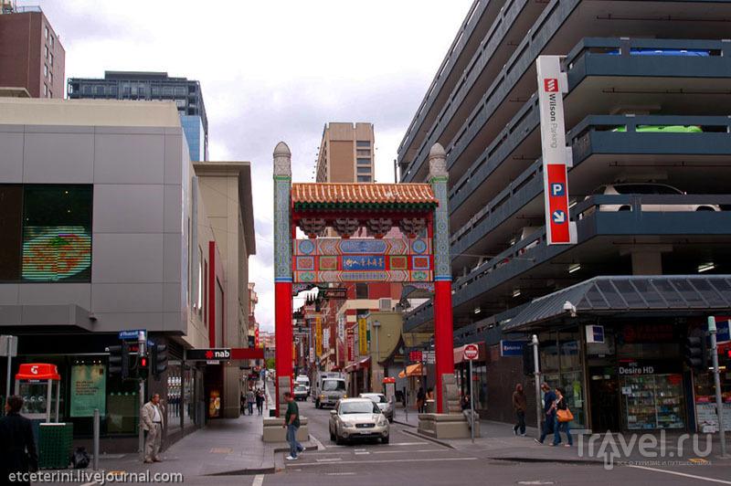 Чайна-таун в Мельбурне / Фото из Австралии