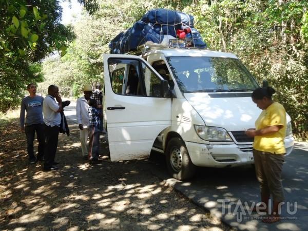 Багаж на маршрутке дальнего следования / Мадагаскар