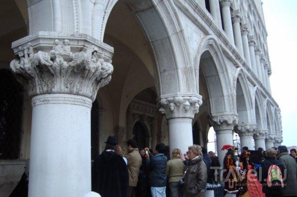 Посетители Дворца Дожей / Италия