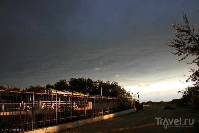 Краснодарский край: город Анапа и осенние шторма / Россия