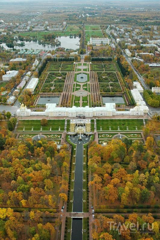 Панорама Верхнего и Нижнего парков / Россия