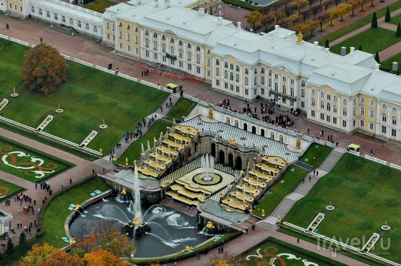 Большой дворец и Большой каскад / Россия