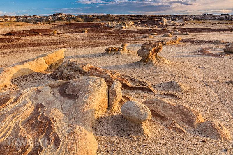 Область была когда-то покрыта древним морем / США