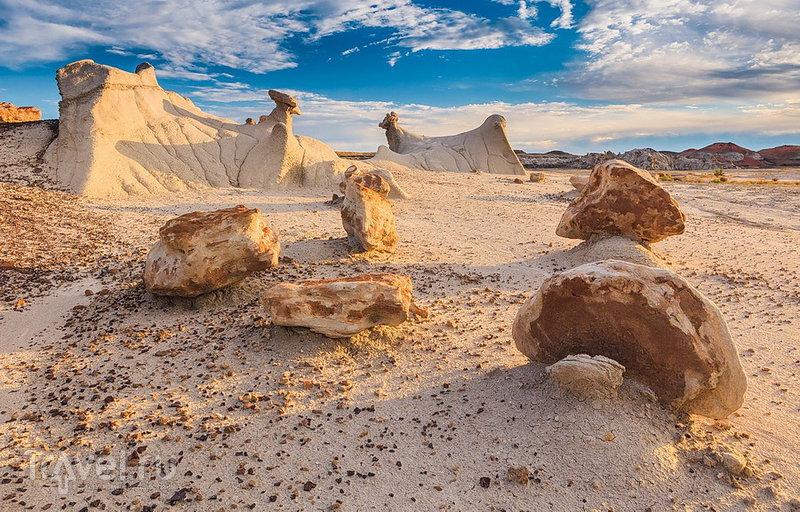 Формы песчаника / США