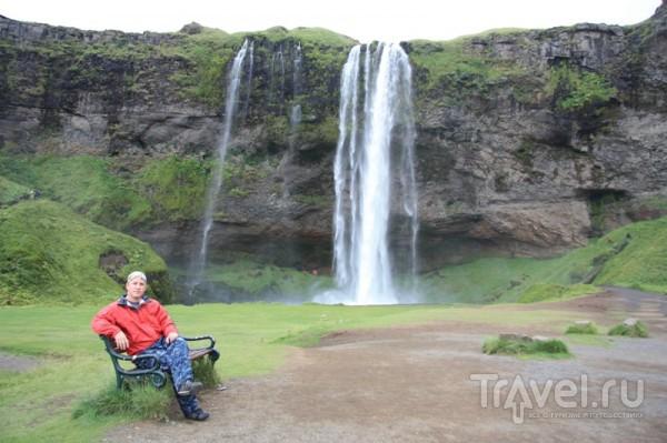 Водопад Селйяландсфосс / Исландия