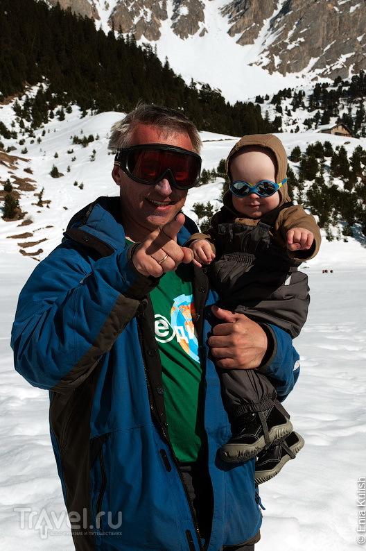 Отдых горнолыжный с маленькими детьми / Франция