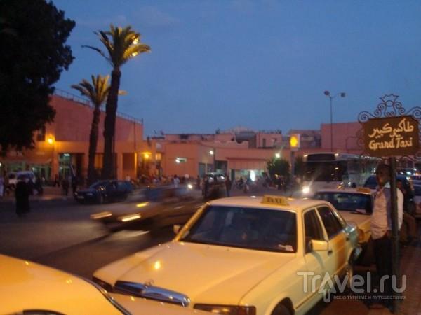 Grand taxi / Марокко