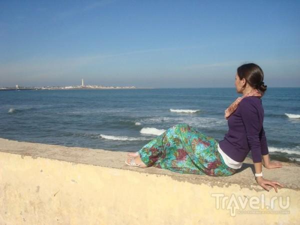 Впервые увидели океан / Марокко
