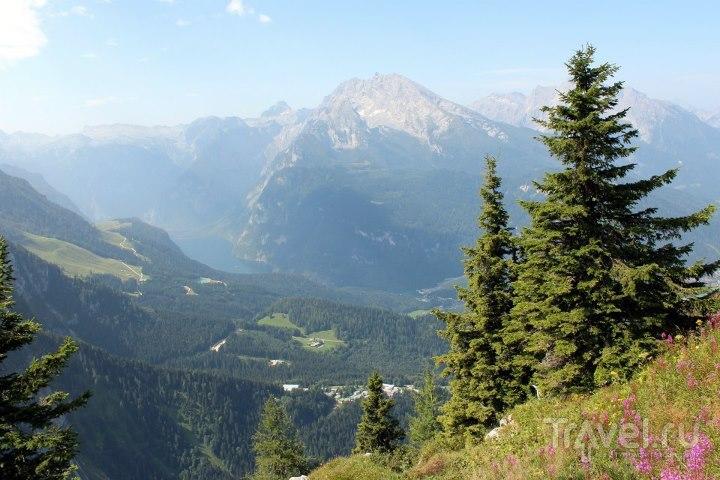 Вид на Кёнингзее с Енербана / Австрия