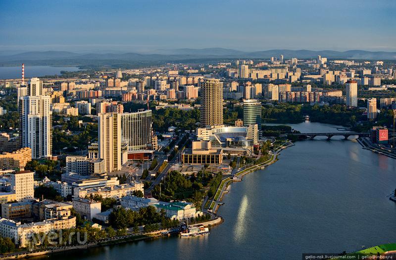 Екатеринбург с высоты / Россия