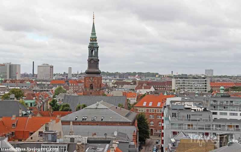 Копенгаген 360°. Круглая башня / Дания