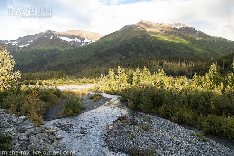 Путешествие на Аляску. Поезд на Анкоридж / США