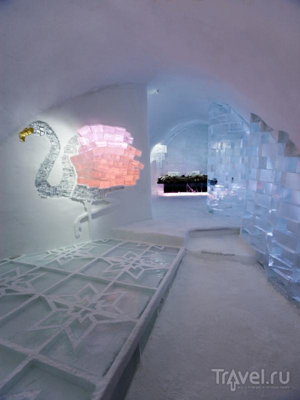 Номер люкс в отеле Icehotel за полярным кругом, Швеция / Швеция