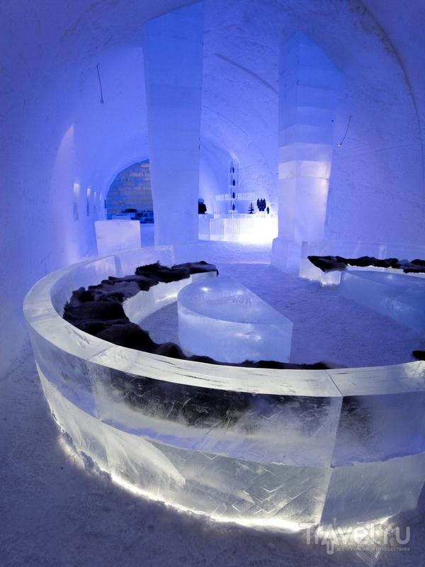 Ледяной бар в гостинице Icehotel, Швеция / Швеция