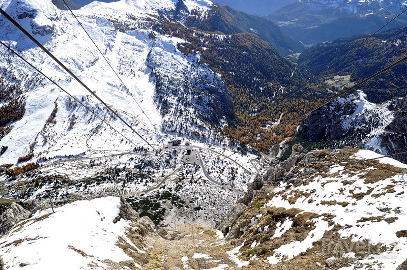 В багрец и золото одетые леса... Доломитовых Альп / Фото из Италии