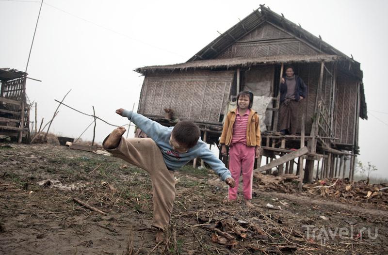 Бирма. На одной ноге... / Мьянма