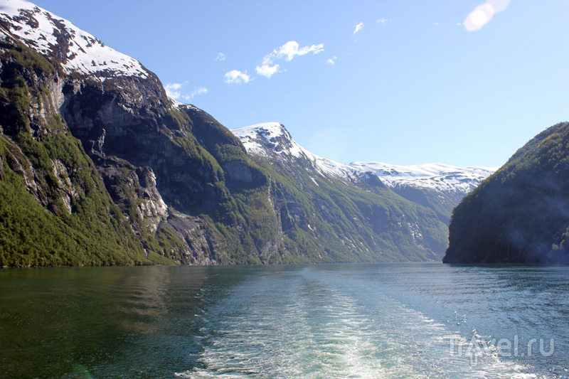 Гейрангер-фьорд / Фото из Норвегии