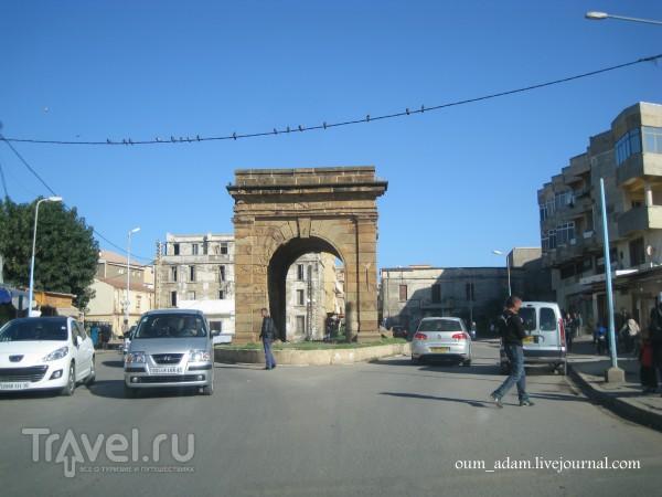 Из Типазы через гору Шинуа в город Шершель / Алжир