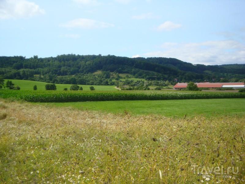 Южная Германия. Шёнталь - Форхтенберг - Кюнцельзау Вальденбург - Швебишь-Халль / Германия