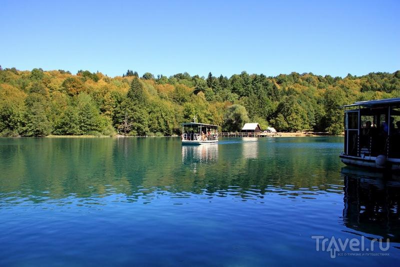 Хорватия. Плитвицкие озера / Хорватия