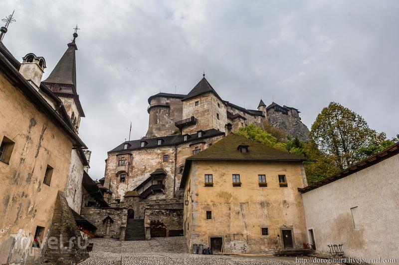 Словацкие замки: Оравский Град / Фото из Словакии