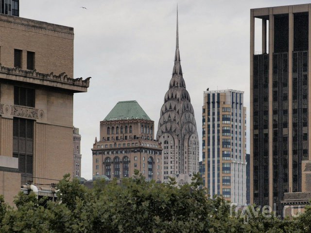 Скрёбонебы Нью-Йорка / США