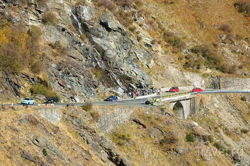 По дороге Трансфагараш с юга на север / Румыния