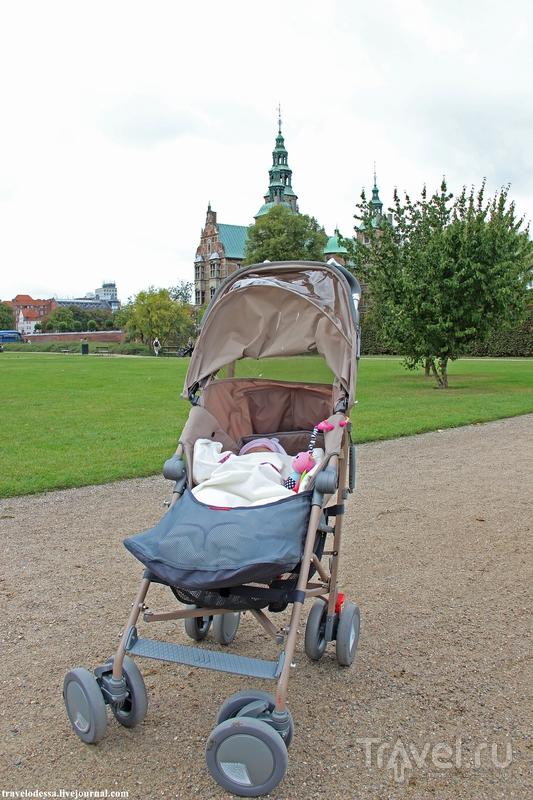 Замок Розенборг. Идеальный парк в Копенгагене / Дания
