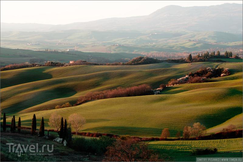 Окрестности Pienza / Италия