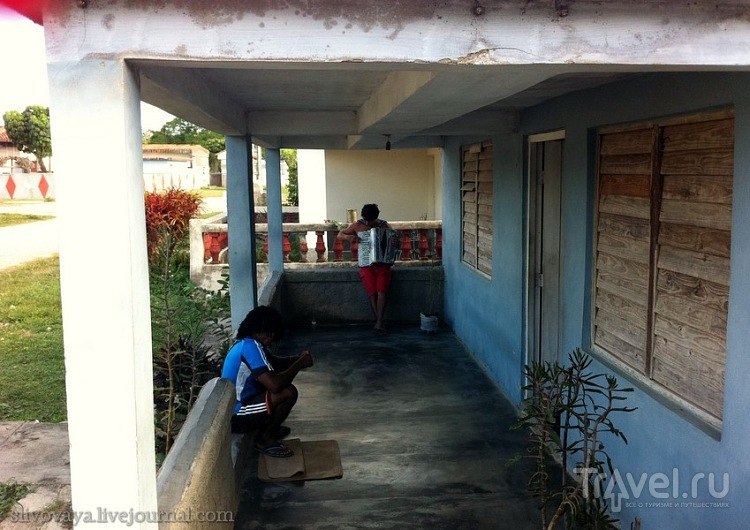 Колхоз им. В.Ленина на Кубе, провинция Матанзас / Куба