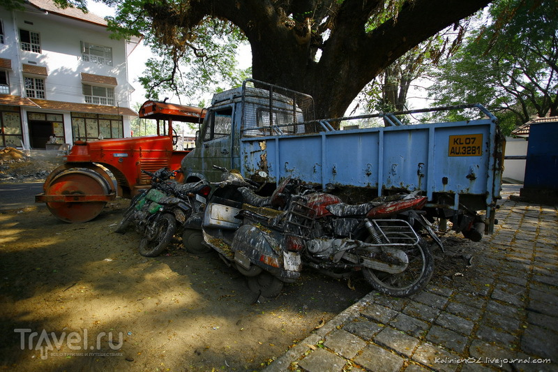 Индия. Кочин и поезд в него / Индия