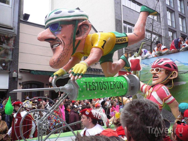Карнавал в Кёльне или праздник для всех  без ОМОНа / Германия