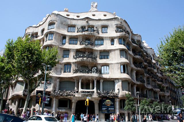 Барселона. Дом Мила / Испания