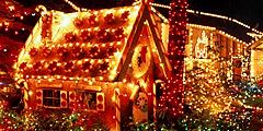 Ярмарка рождественская деревня