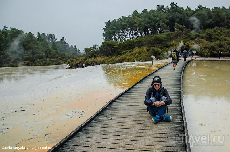 Новая Зеландия. Вай-О-Тапу / Фото из Новой Зеландии