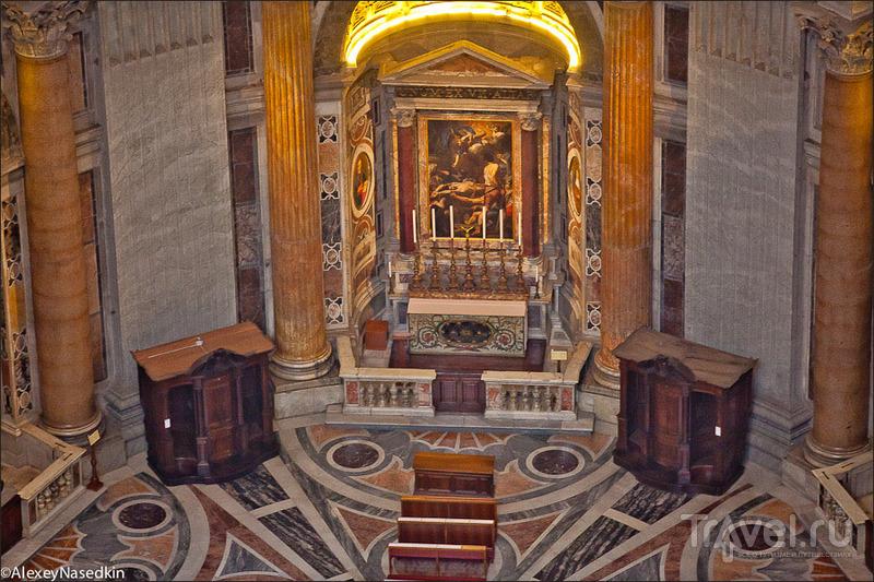 Рим с собора Святого Петра / Фото из Италии