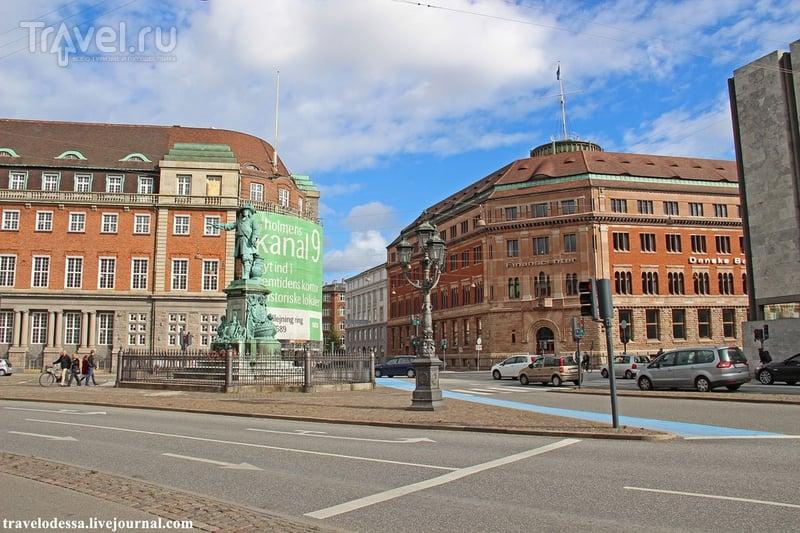 Прогулка по Копенгагену. Слотсхольмен, биржа и Кристиансборг / Дания