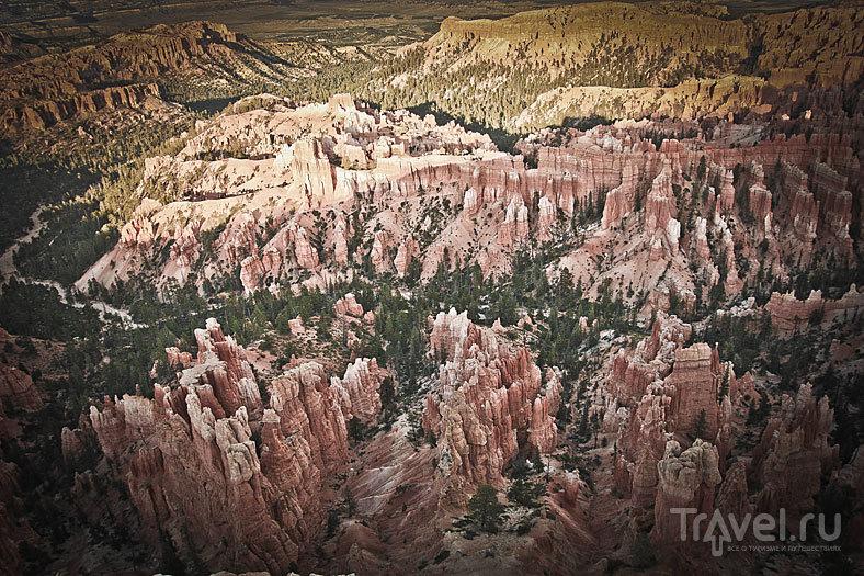 Sunset in Bryce Canyon, UT / США