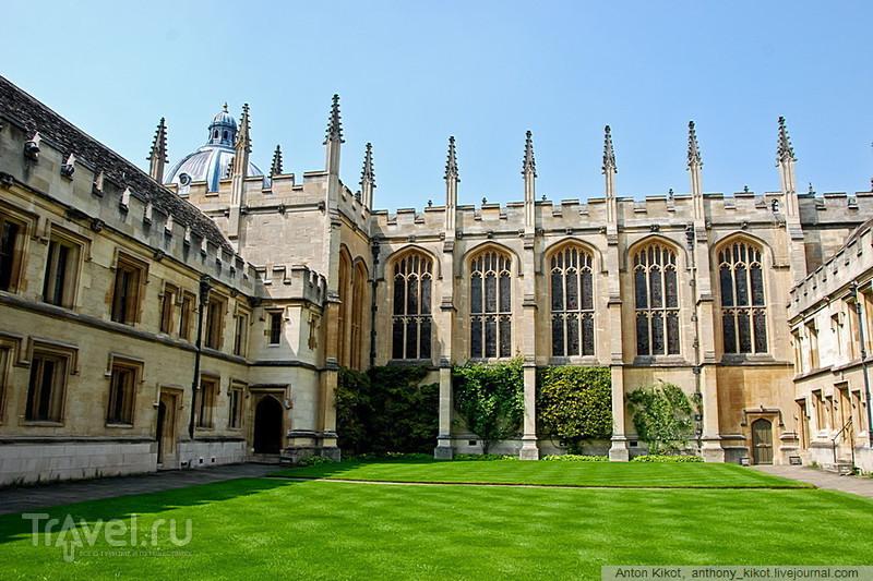 Велосипедно-университетский Оксфорд / Великобритания