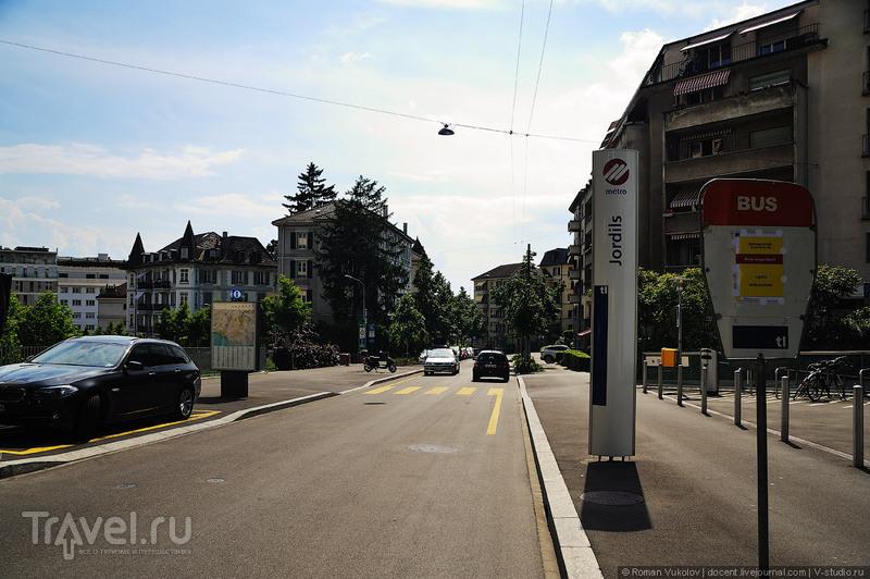 """""""Игрушечный"""" метрополитен в Лозанне / Фото из Швейцарии"""