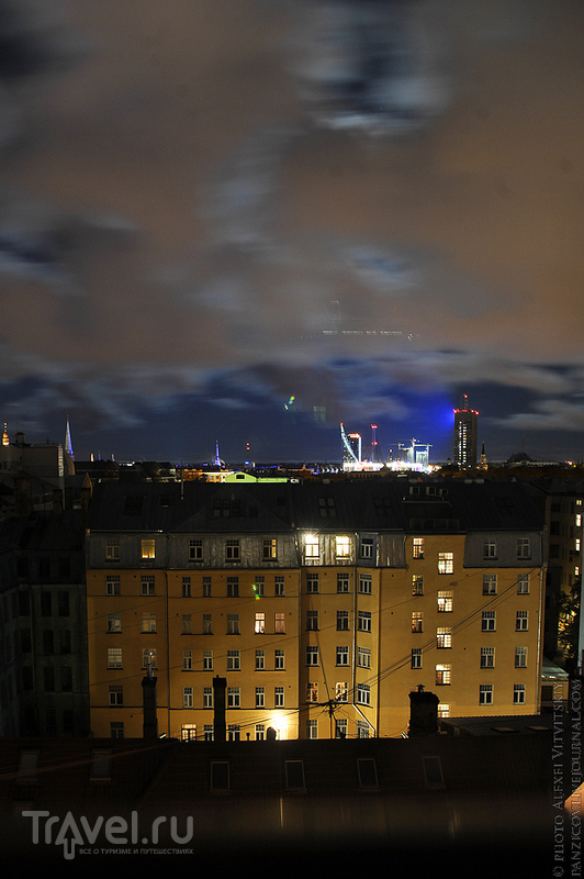 Рига на выходные. Часть 2: ночь и арт-нуво / Латвия