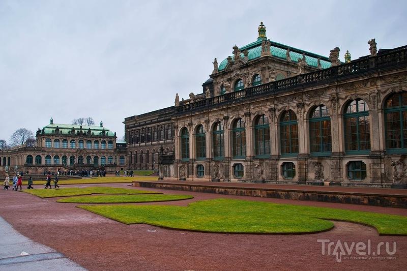 Дрездена застывший силуэт / Фото из Германии