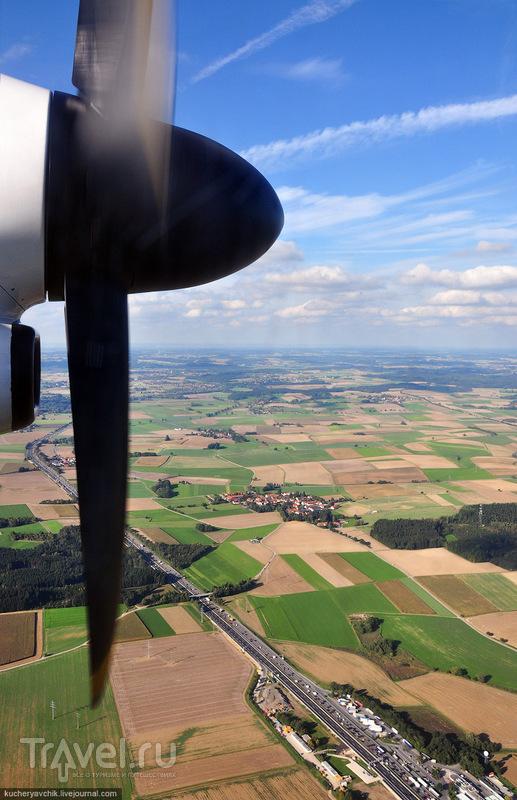 С пропеллером до Мюнхена / Германия
