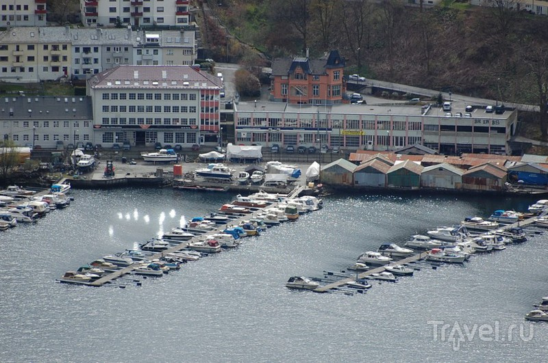 Берген. Флёйен / Норвегия