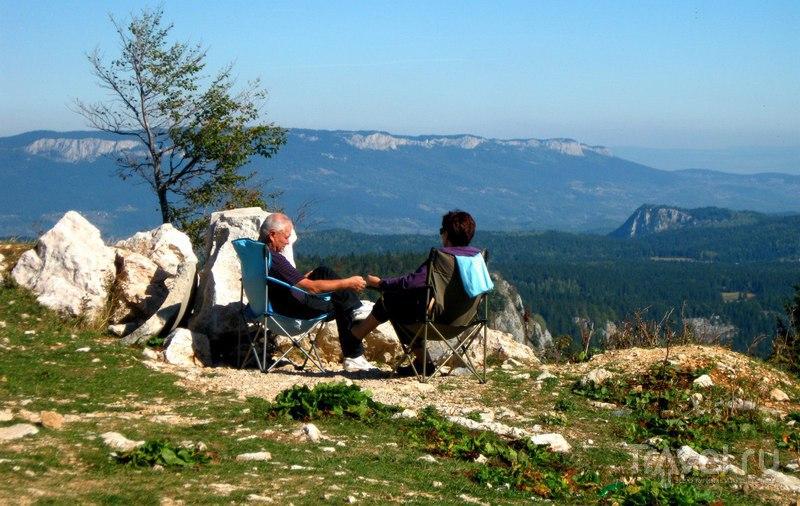 """Боснийский горнолыжный курорт """"Яхорина"""" осенью / Босния и Герцеговина"""