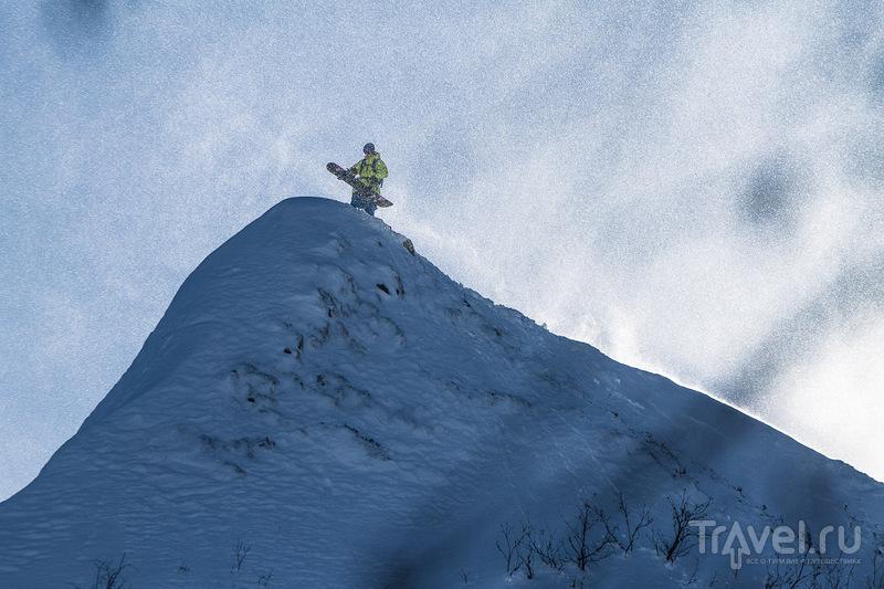 """Горнолыжный курорт """"Роза Хутор"""" в Красной Поляне. Царство снега, снега, снега... / Фото из России"""