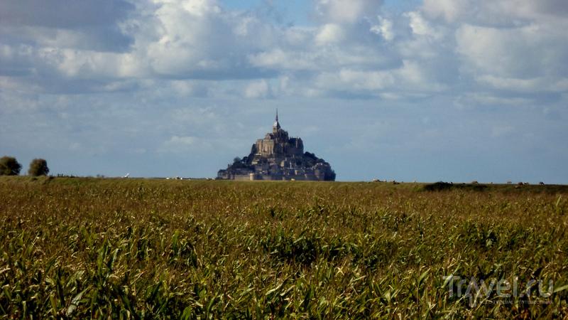 Normandie. Étretat - Caen - Le Mont Saint-Michel / Франция