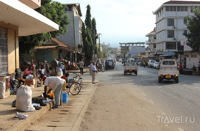 Моши: небольшой городок в глубине Африки / Танзания