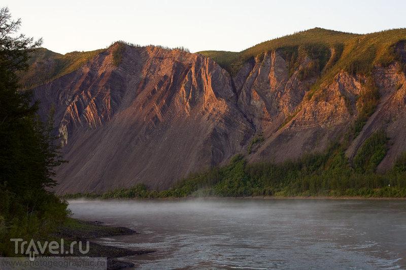 Утро туманное на Индигирке / Россия